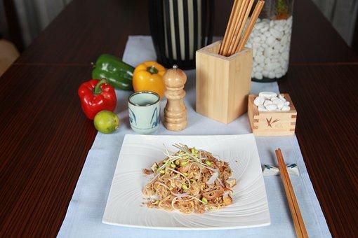 Pad Thai, Masakan Filipina, Mie, Stirfry