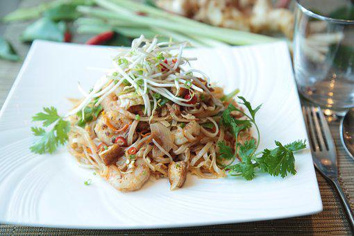 Pad Thai, Noodles, Thai, Pad, Asian