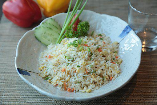 Fried Rice, Exotic, Food, Philippines