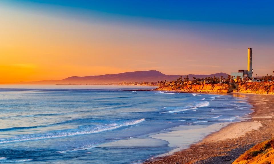 California Sunset Evening 183 Free Photo On Pixabay