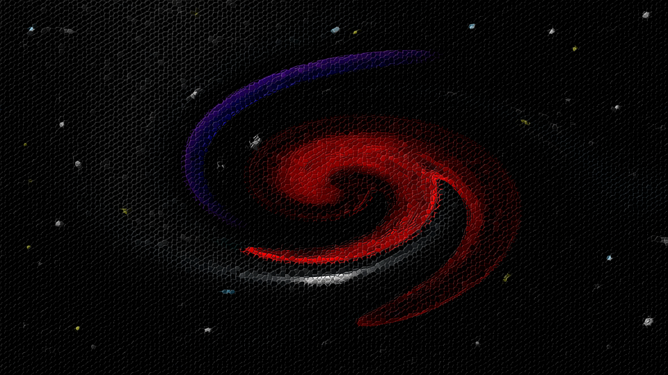 Mosaic Space Galaxy Free Image On Pixabay