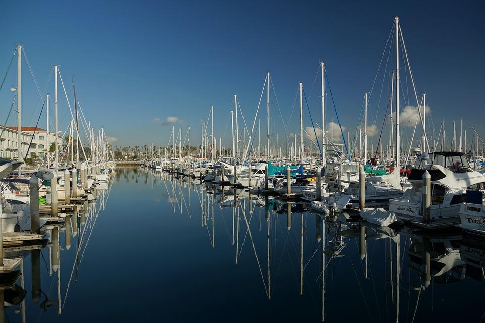 Port, Boat, Yacht, Marina, Sea, Water, Sailboat