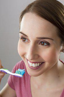 Woman, Dentist, Toothbrush, Tooth, Smile
