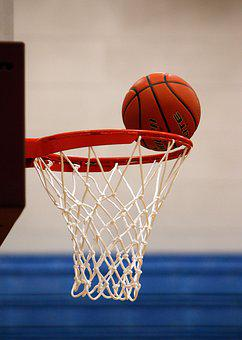 Basketball, Net, Score, Rim, Hoop, Ball