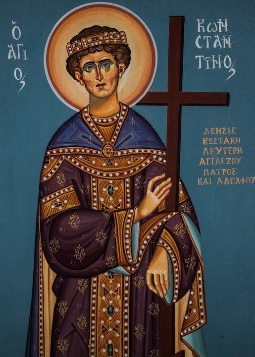 St Constantine, Saint, La Religion, Église
