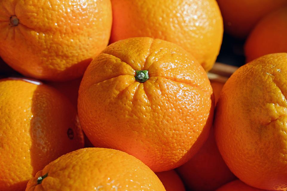 Orangen, Apfelsinen, Zitrusfrüchte, Obst, Früchte