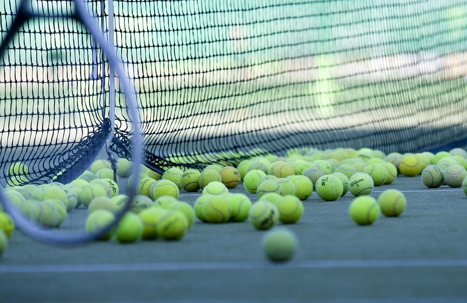 Tennis, Ãœbung, Spielplatz, Ball, Sport, Hobby
