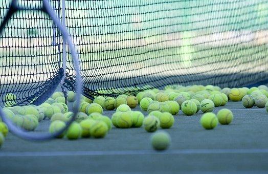 テニス, 運動, 運動場, 球, スポーツ, 趣味