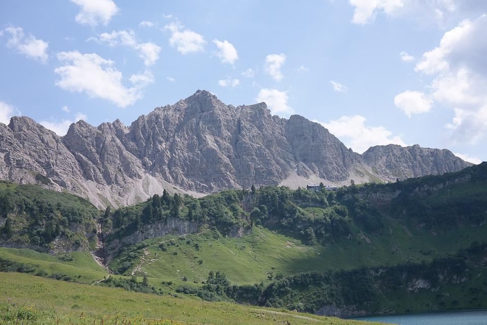 free photo: top of pools, allgäu alps, alpine - free image on