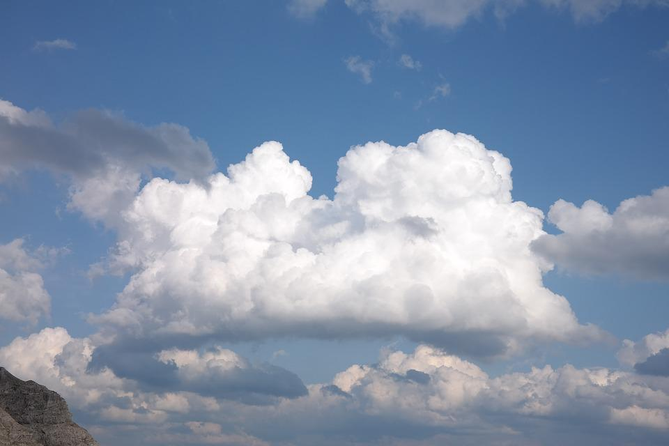 Free photo: Cumulus Clouds, Sky, Cloudiness - Free Image on ...