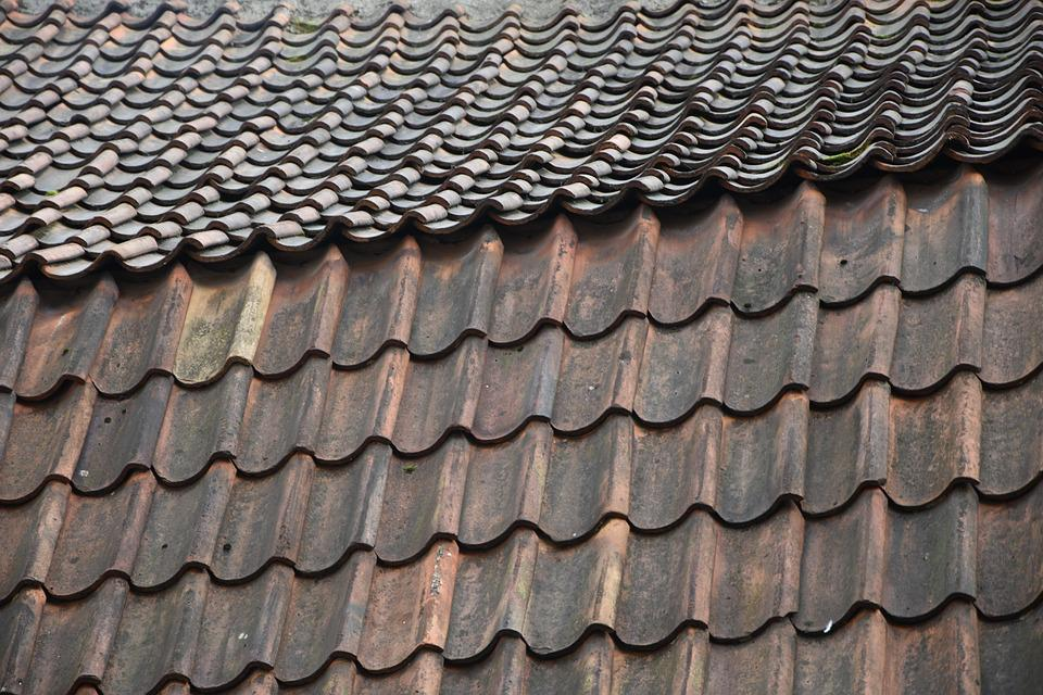 Roof Tiles Marley Ashmore Double Plain Roofing Tile Old