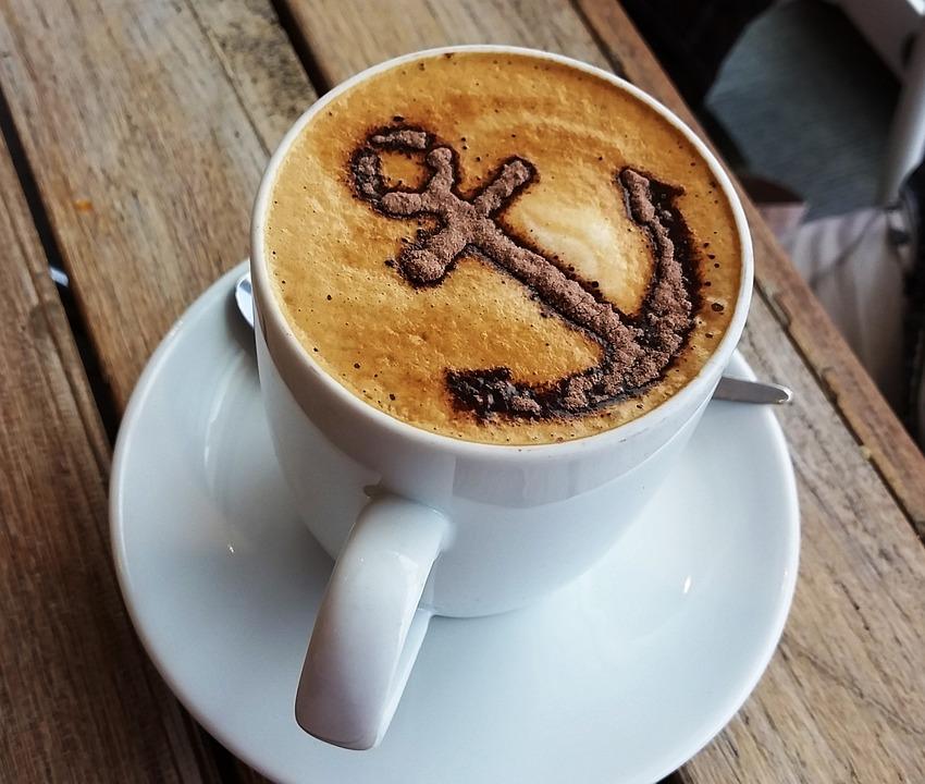 Coffee cappuccino anchor free photo on pixabay - Bilder cappuccino ...