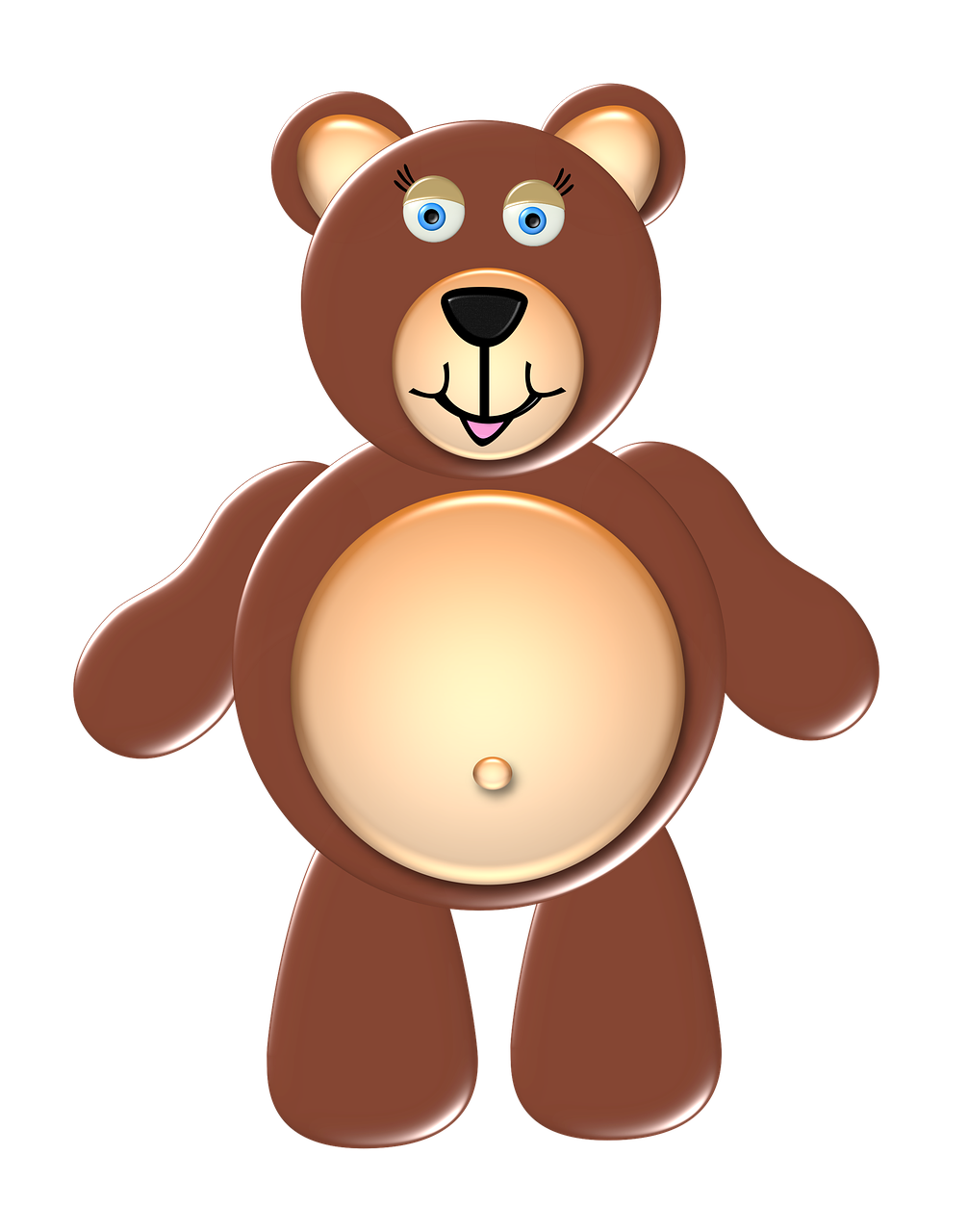 Beruang Lucu Hewan Gambar Gratis Di Pixabay
