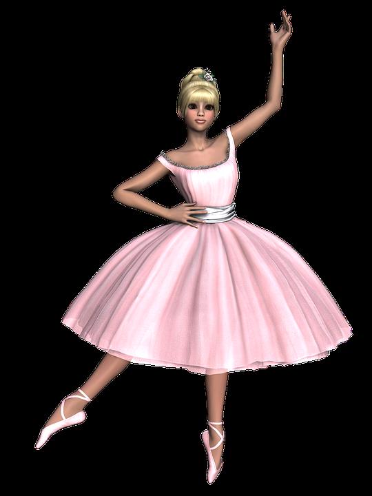 Extrêmement Illustration gratuite: Jeune Fille, Danse, Classique, Tutu - Image  XQ56