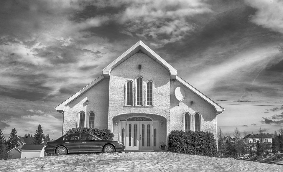 Church black and white b w free photo on pixabay church black and white b w hdr cloudy altavistaventures Gallery