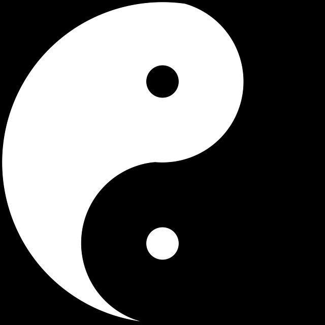 yin yang symbol emblem free image on pixabay rh pixabay com Yin Yang Symbol Meaning Cool Yin Yang