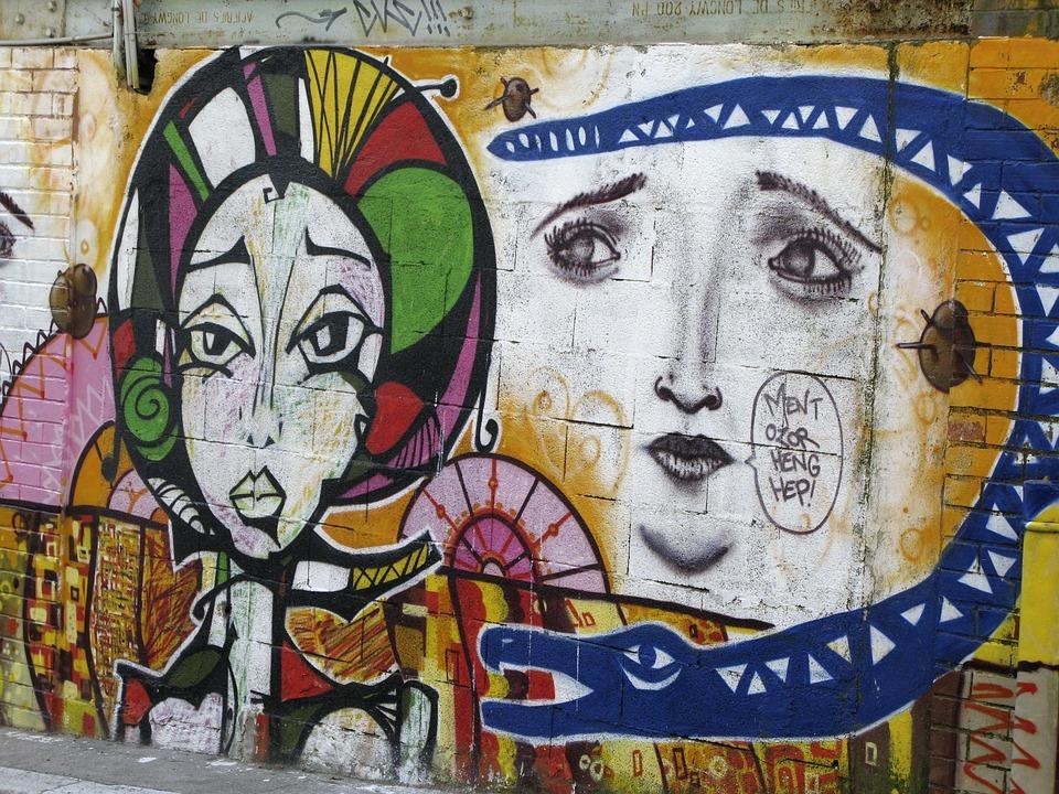 Graphiti Peinture Tag Street Art Bombe