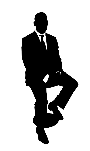 Business Man Silhouette Suit 183 Free Vector Graphic On Pixabay