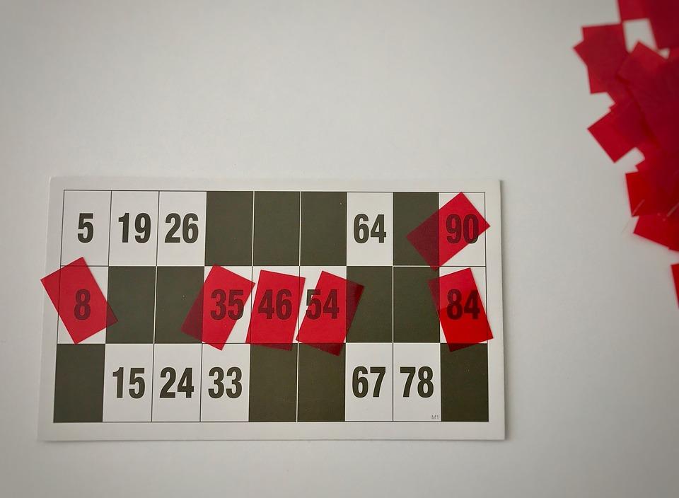 Loto, Rouge, Carte À Jouer, Profit, Gesellschaftsspiel