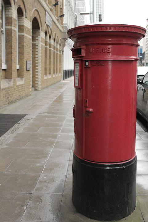 Rot Briefkasten Englisch Kostenloses Foto Auf Pixabay