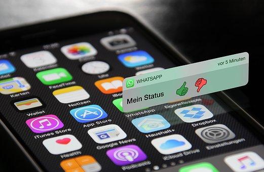 Whatsapp, Ios, Homescreen, Iphone