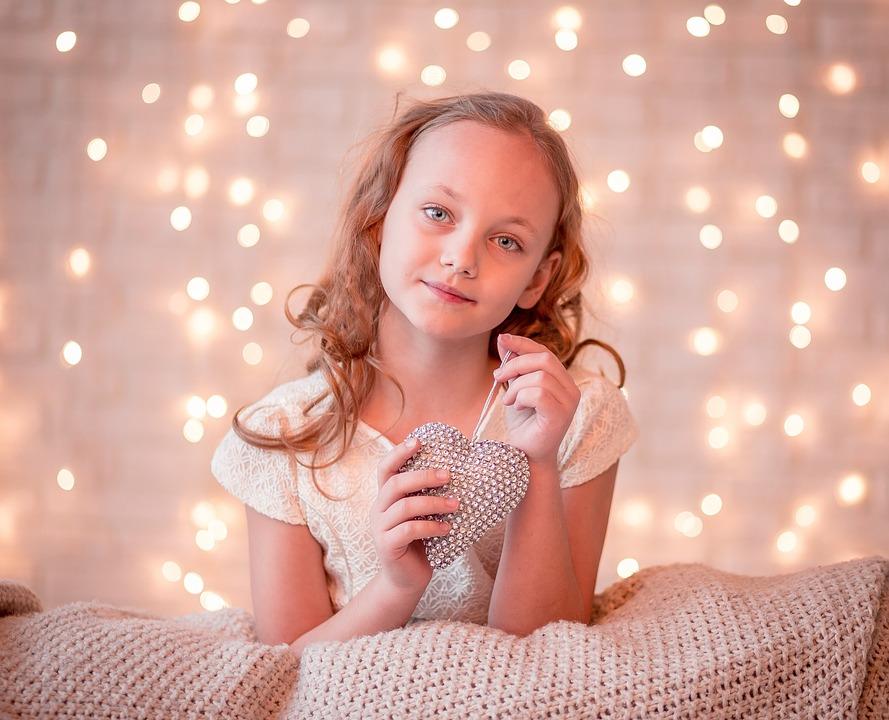 Момиче, Малко, Дете, Сладък, Щастлив, Усмивка, Красив