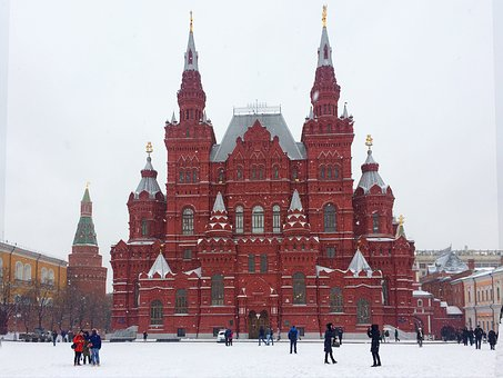 Кремль фото зимой