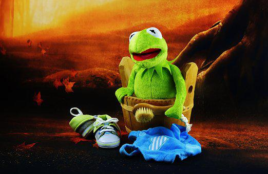 Nuotare, Kermit, Pennello