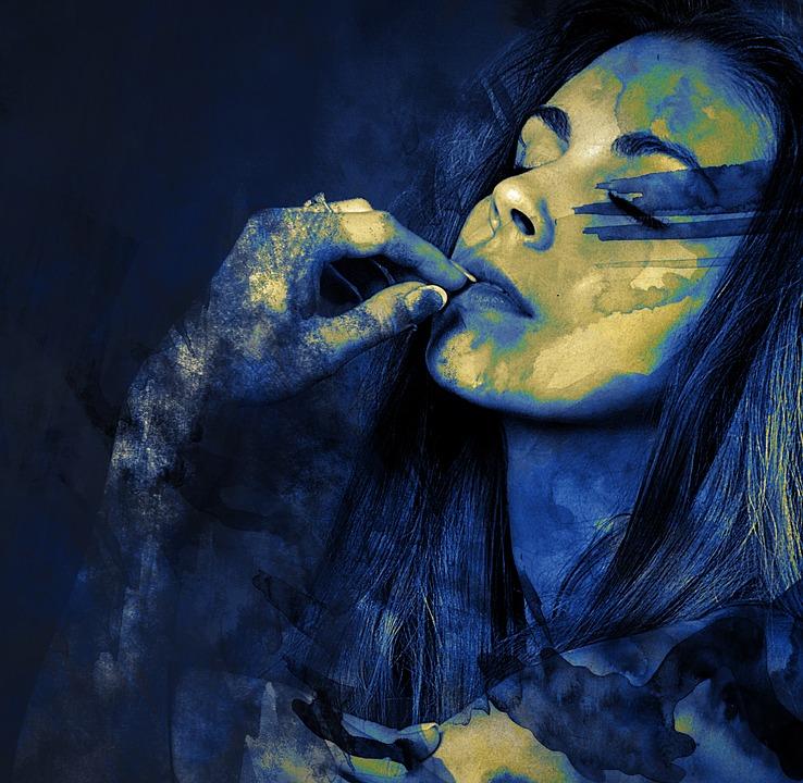 Kadın Yüz Boyama Pixabayde ücretsiz Resim
