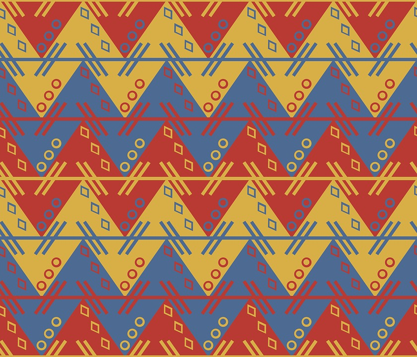 Aztec, South American, Pattern, Zig, Zag