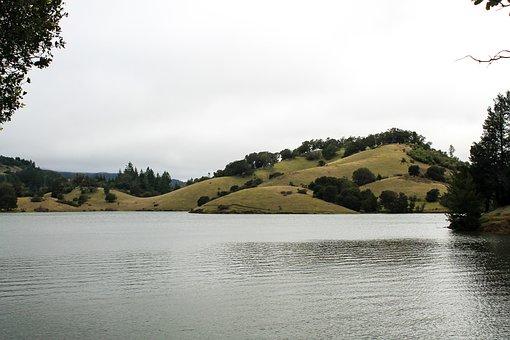 Lake, California, Nature, Usa, Sierra