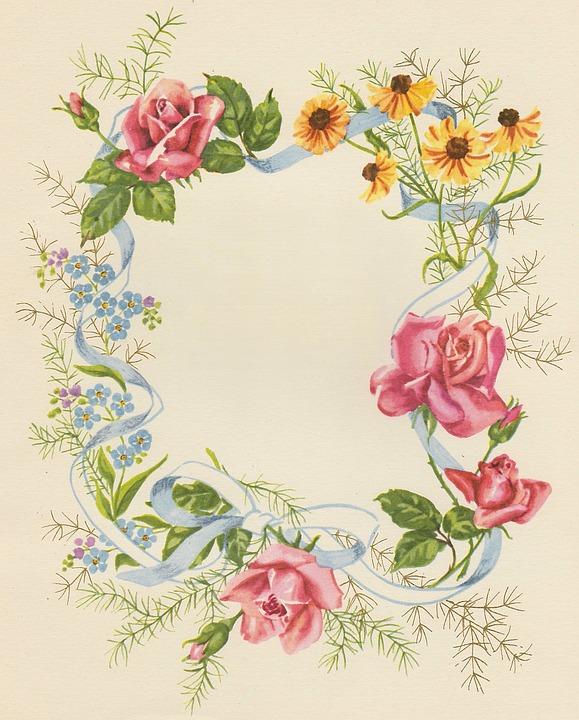 Birthday Cards Flowers Framework Free photo on Pixabay