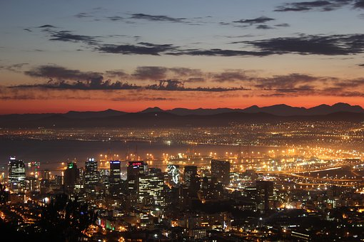 Cape Town, Sunrise, Cbd, City, Sun