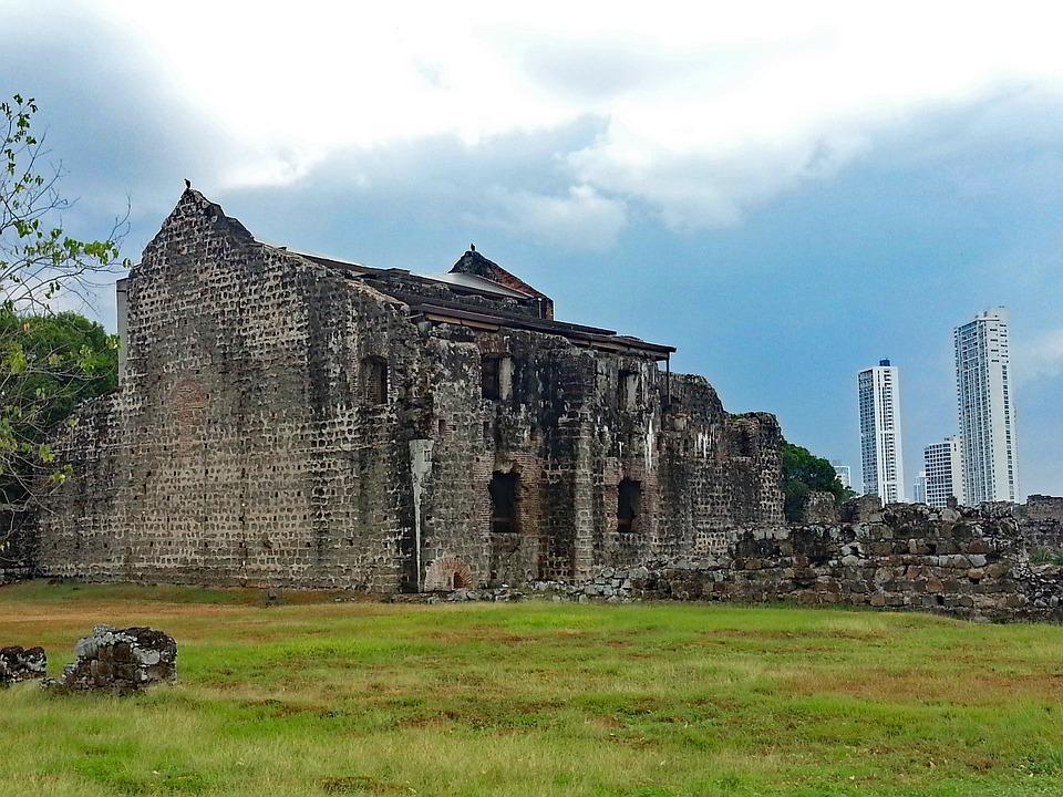 Panama City, Panama, Panama Viejo, Ruine