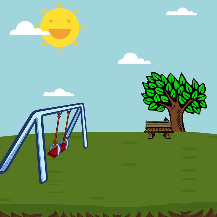 playground swing park · free image on pixabay