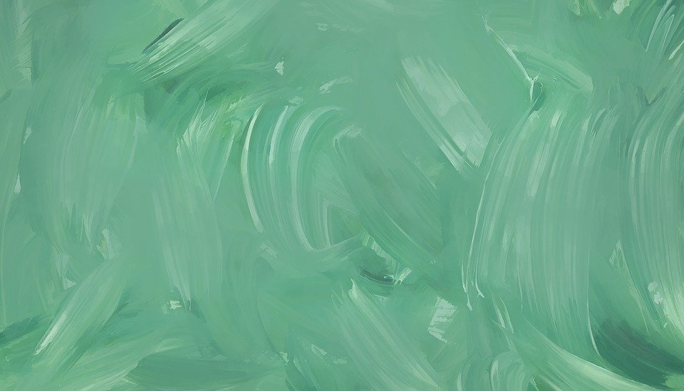 Green Painted Background
