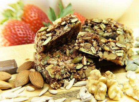 Muesli, Granola Bars, Cereals, Nuts
