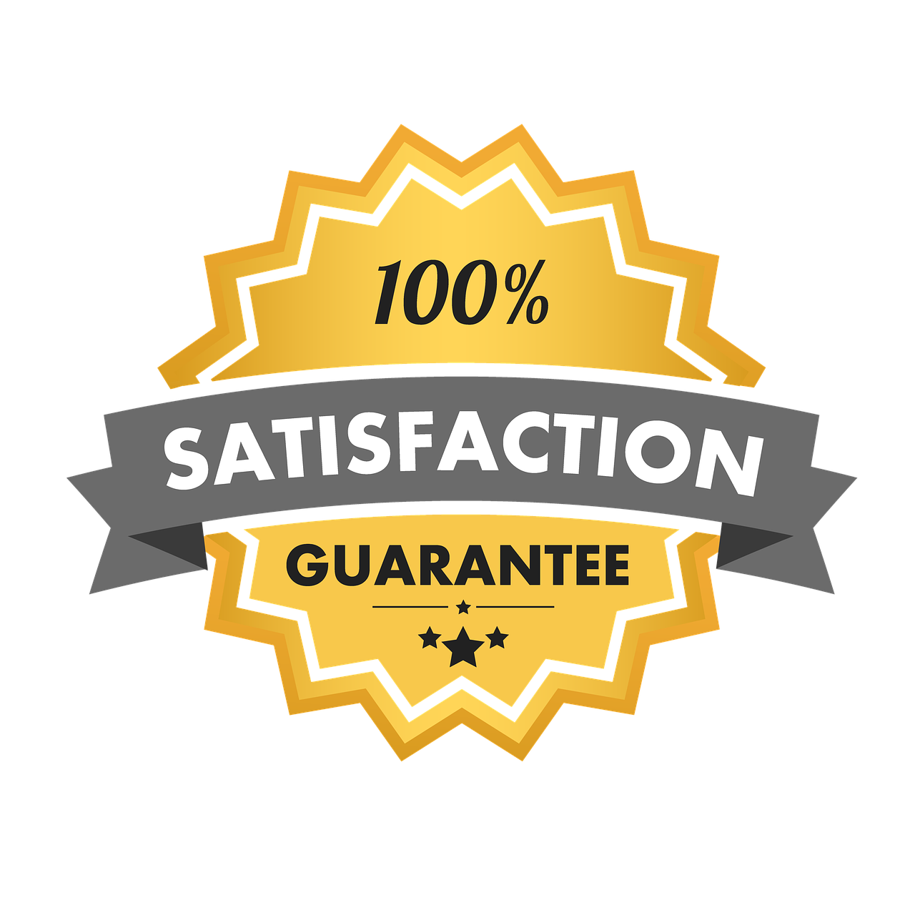Satisfaction Guarantee 100 - Free image on Pixabay