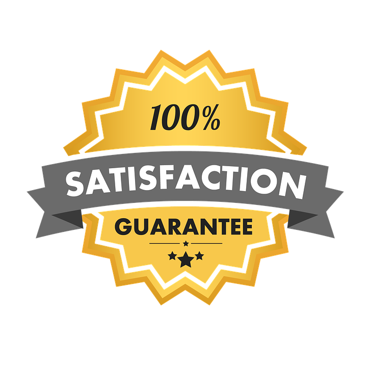 Image result for 100 satisfaction guarantee logo