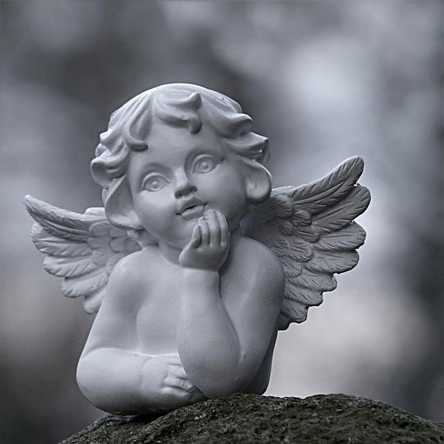 angel sitting figure  u00b7 free photo on pixabay