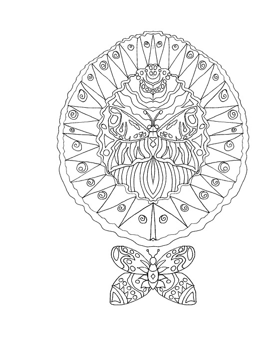 521 X 492 In Coloring Book For Adults