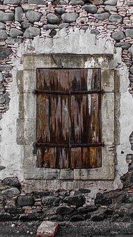 Fenêtre, Vieux, Ans, Altérée