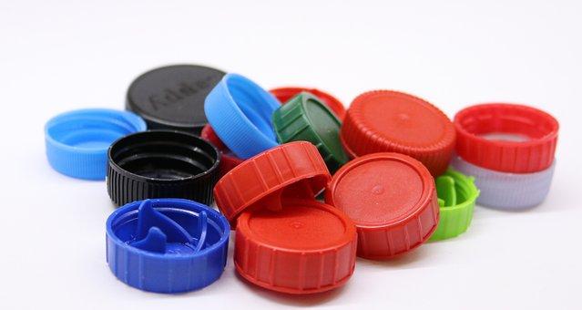 Plastikowe Zakrętki, Kapsle, Plastik