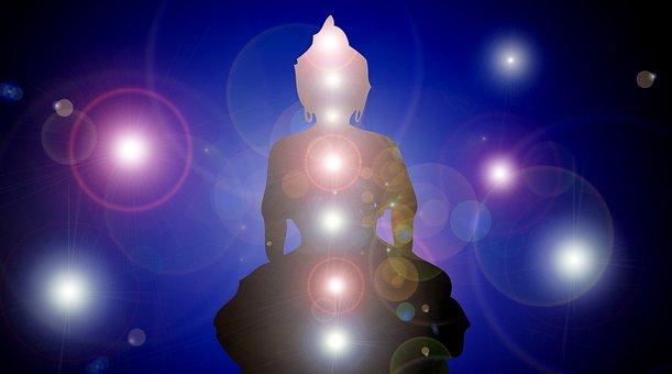 Walking Paper, Buddha, Chakras, Aura