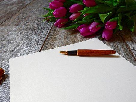 文字, 紙, 書きます, フィラー, 万年筆, 執筆道具, 筆記用具, インク