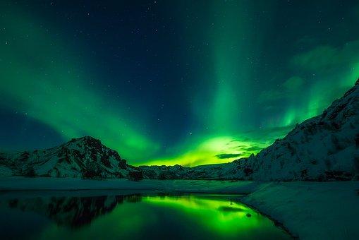 Iceland, Aurora Borealis