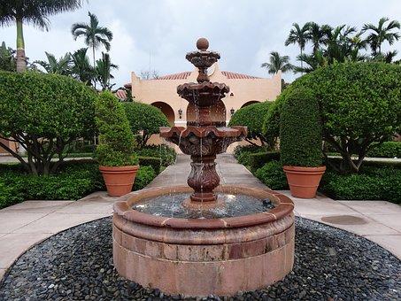 Source, Water, Garden