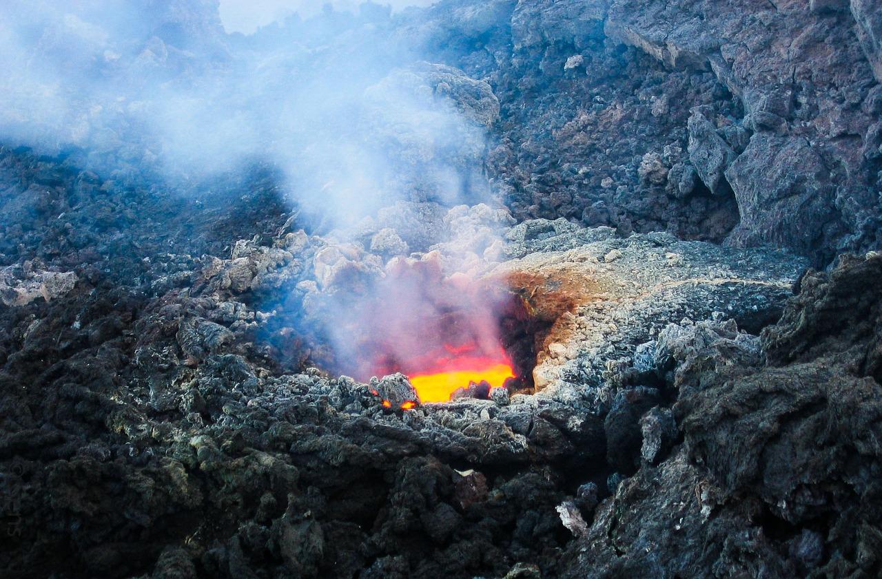 Vulcão Etna Itália - Foto gratuita no Pixabay