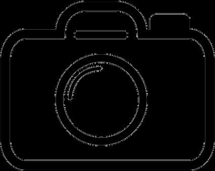 Camera The Stroke Icon Logo Sign Icon