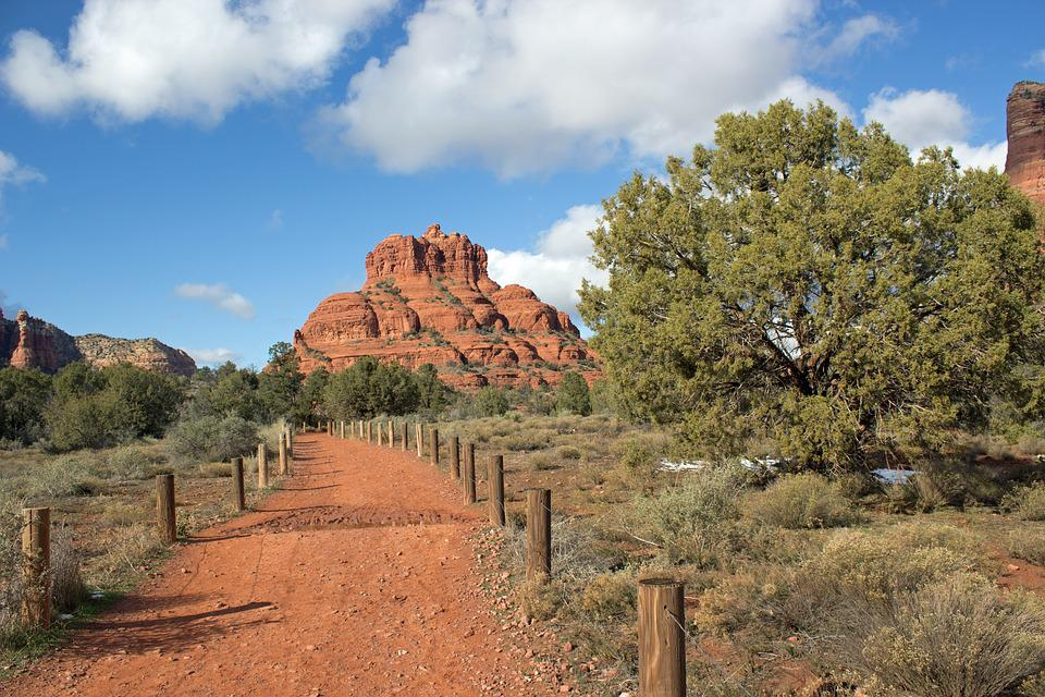 Sedona, Red, Rocks, Canyon, Landscape, Arizona